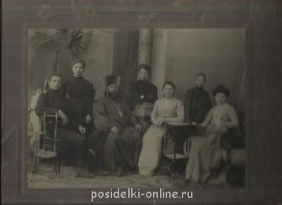Прапрадед иерей Павел Кандалинский и его семья - кандалинские.jpg