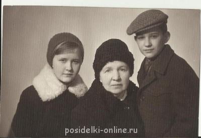 прабабушка с моими мамой и дядей - прабабушка 2.jpg